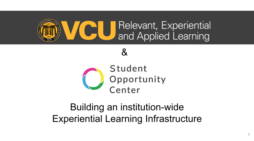 centralize experiential learning VCU